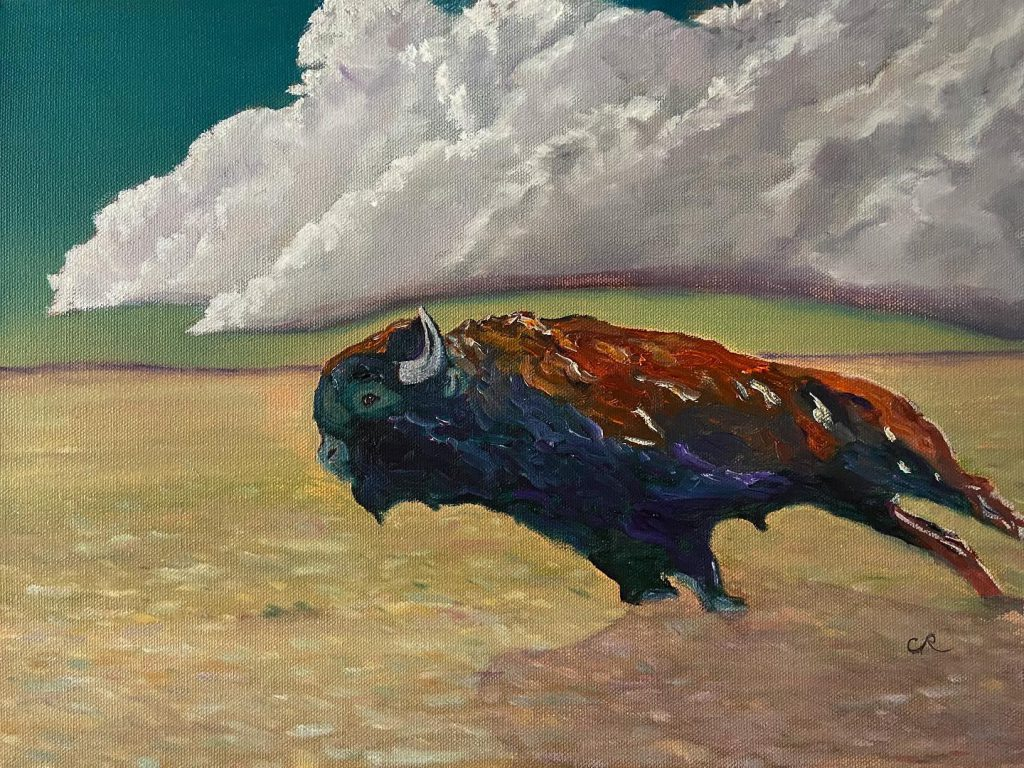 archangel oil on canvas