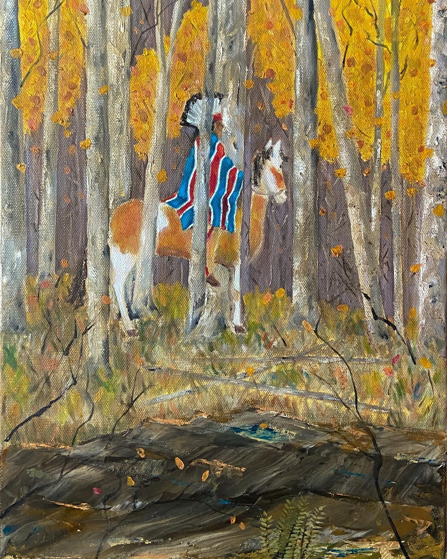 confluence oil on canvas